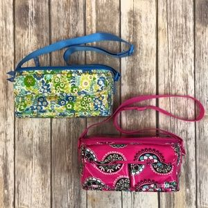 Bundle of Two Vera Bradley Lunch Totes